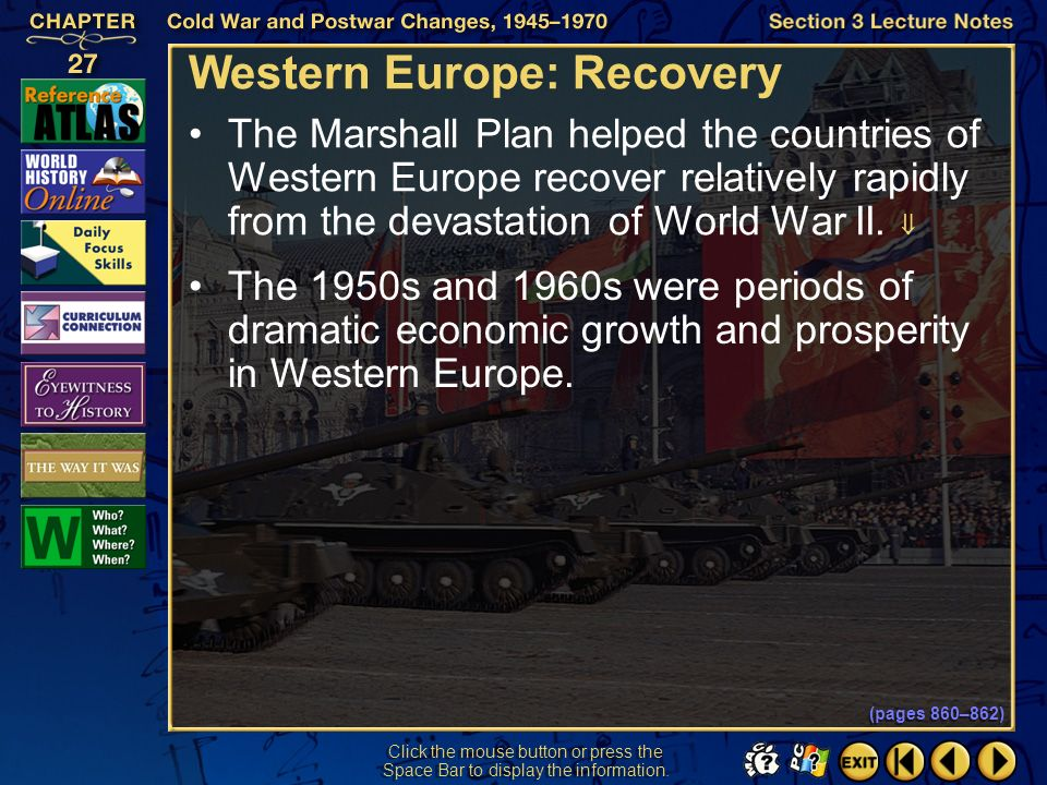 Western Europe: Recovery