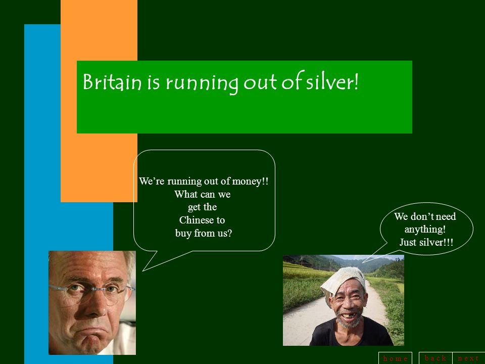 Britain is running out of silver!