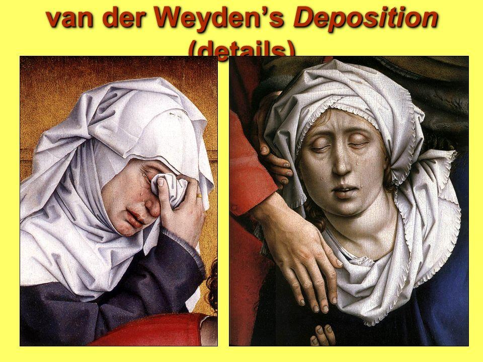 van der Weyden's Deposition (details)