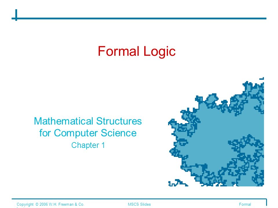 Mathematical Structures for Computer Science Chapter 1