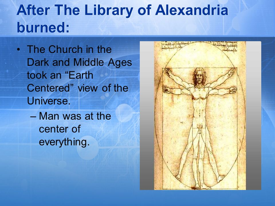 After The Library of Alexandria burned:
