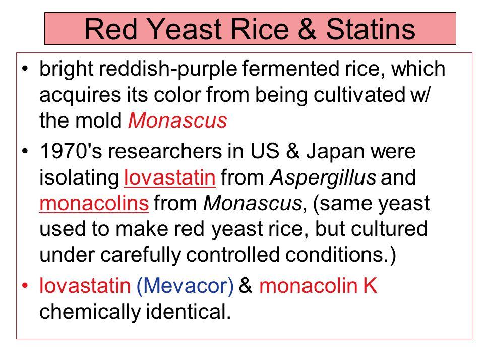 Red Yeast Rice & Statins