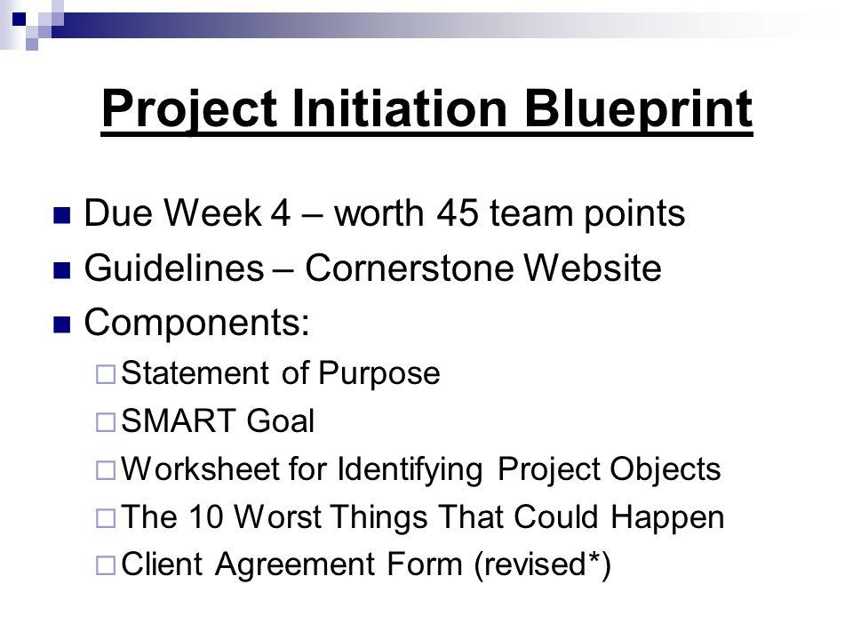 Project Initiation Blueprint