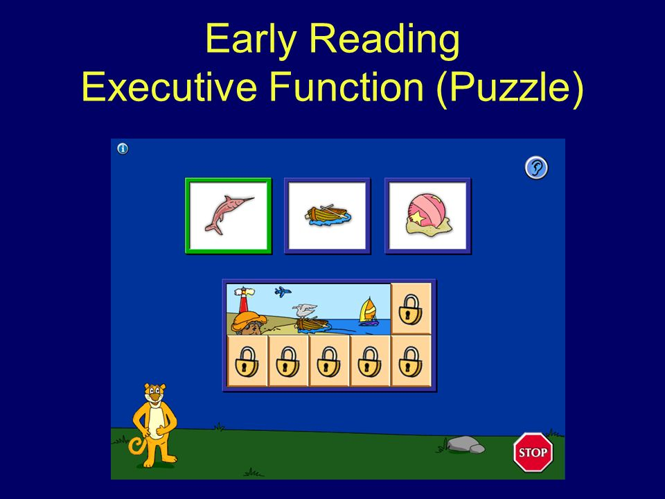 Early Reading Executive Function (Puzzle)