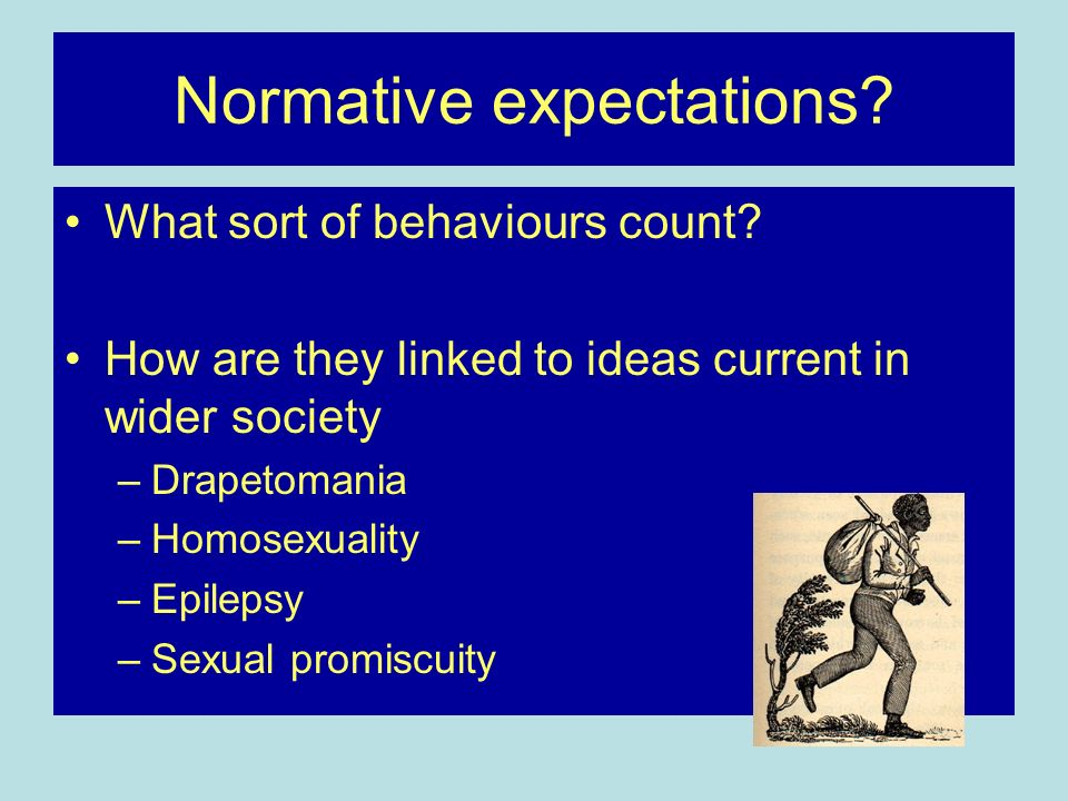 Normative expectations