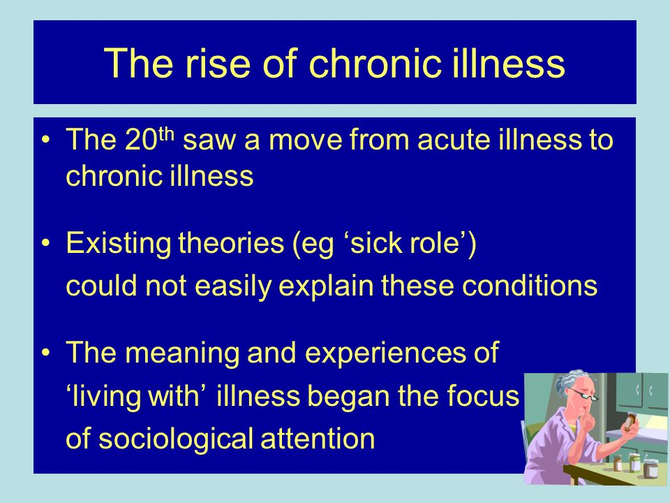 The rise of chronic illness