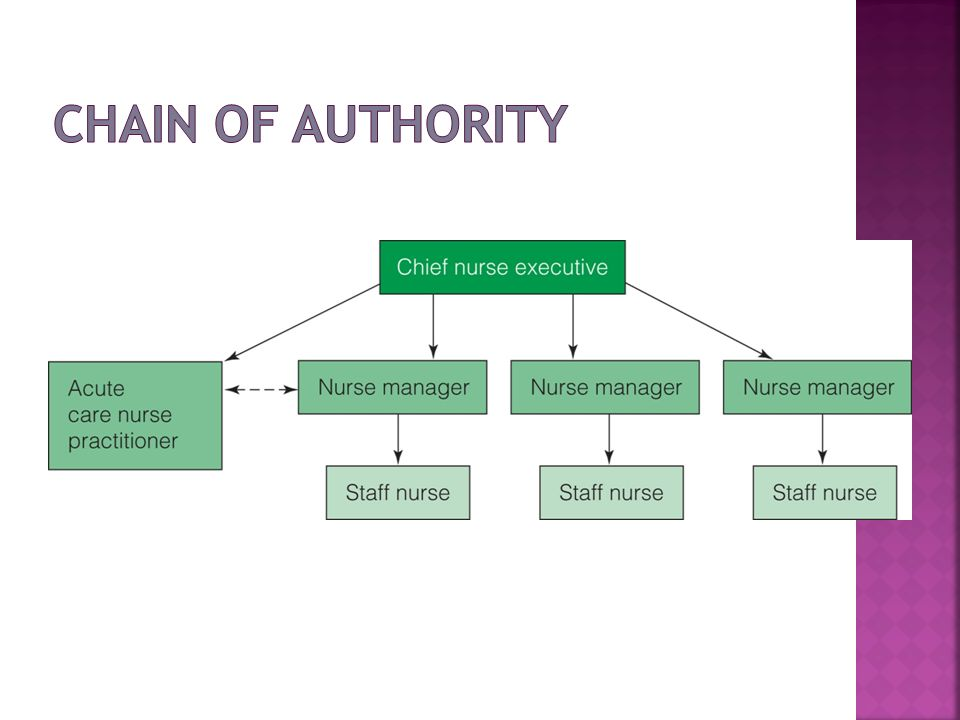 Chain of Authority