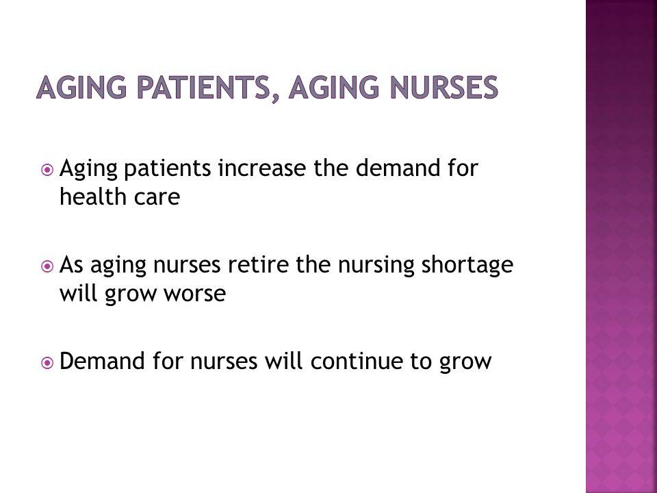 Aging Patients, Aging Nurses