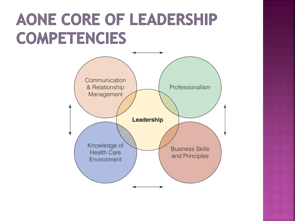 AONE Core of Leadership Competencies