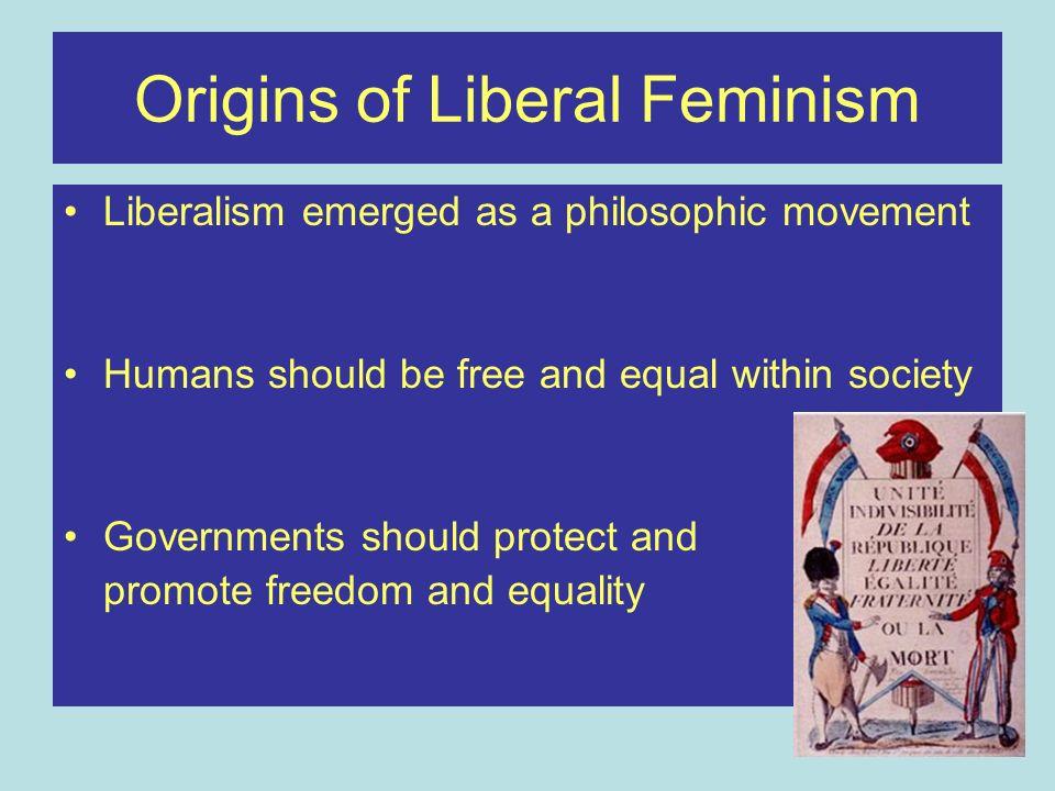 Origins of Liberal Feminism