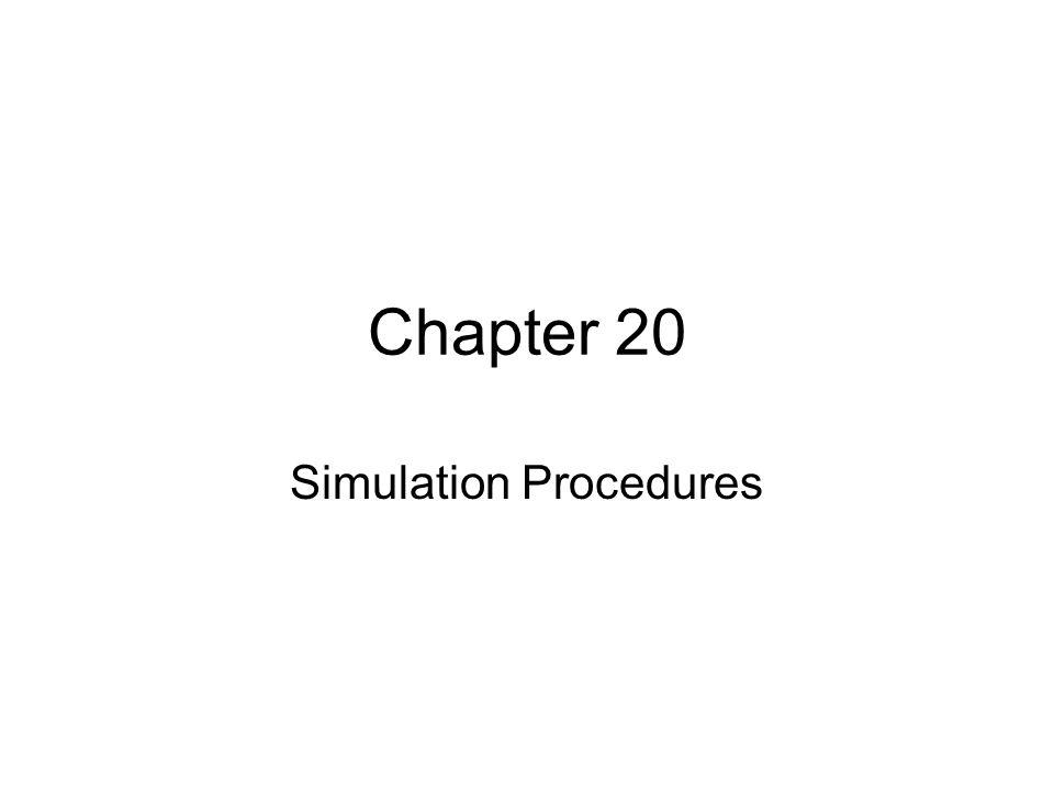 Simulation Procedures