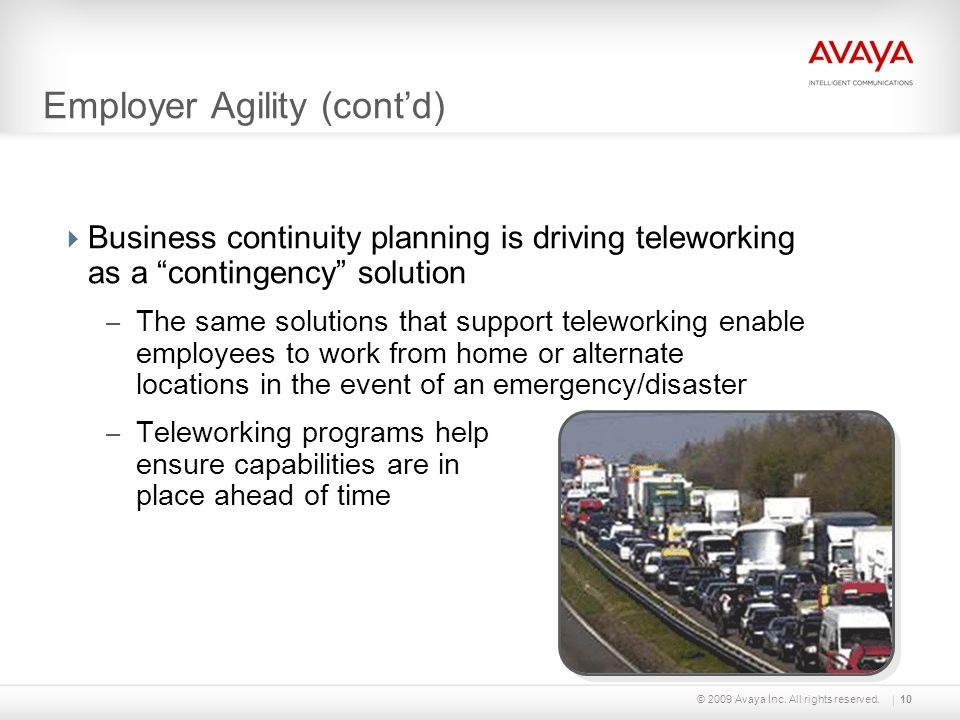 Employer Agility (cont'd)