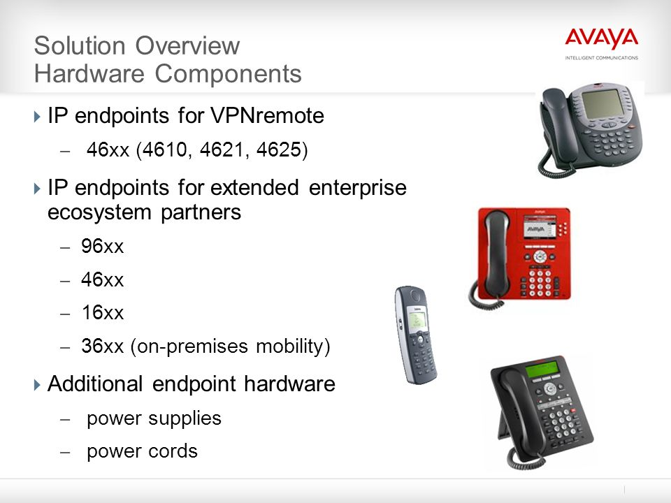 Solution Overview Hardware Components