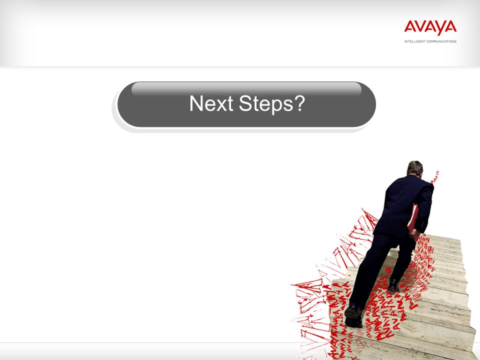 Next Steps © 2009 Avaya Inc. All rights reserved.