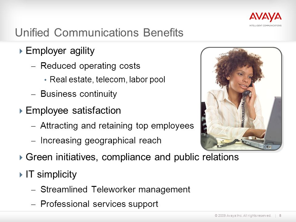 Unified Communications Benefits
