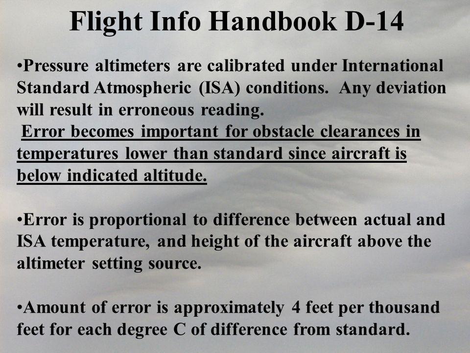 Flight Info Handbook D-14