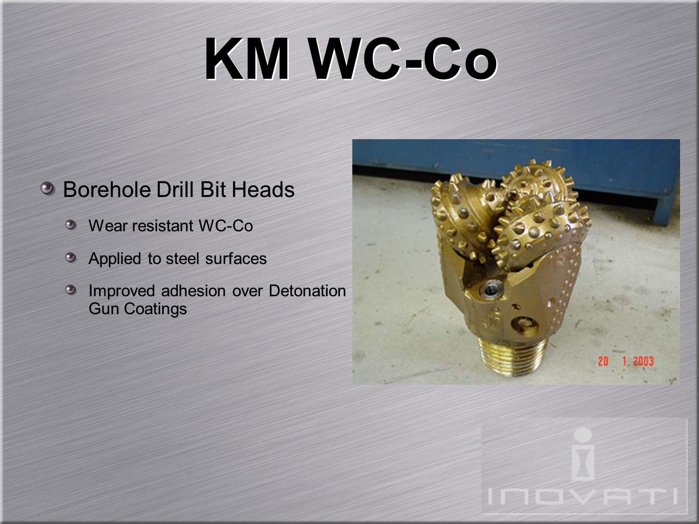 KM WC-Co Borehole Drill Bit Heads Wear resistant WC-Co