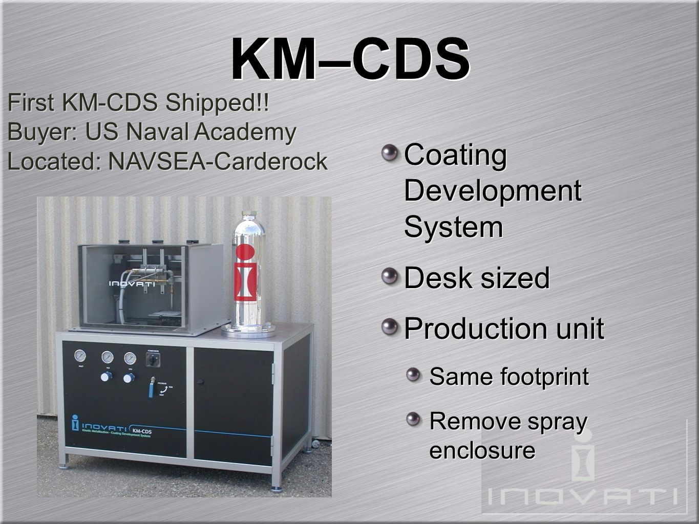 KM–CDS Coating Development System Desk sized Production unit