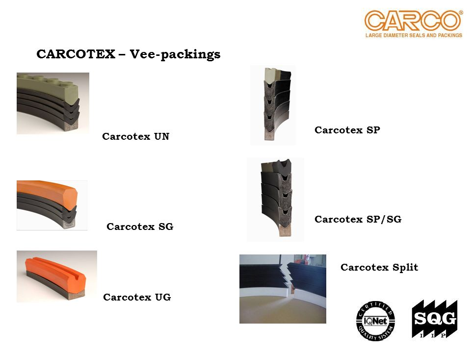 CARCOTEX – Vee-packings