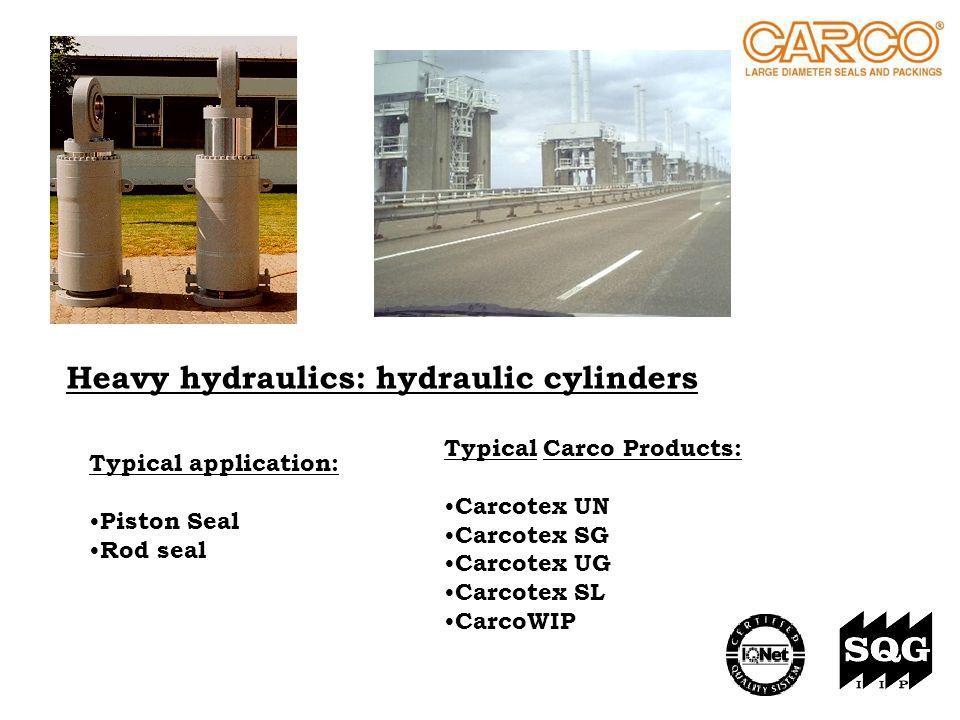 Heavy hydraulics: hydraulic cylinders