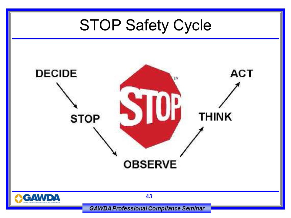 STOP Safety Cycle