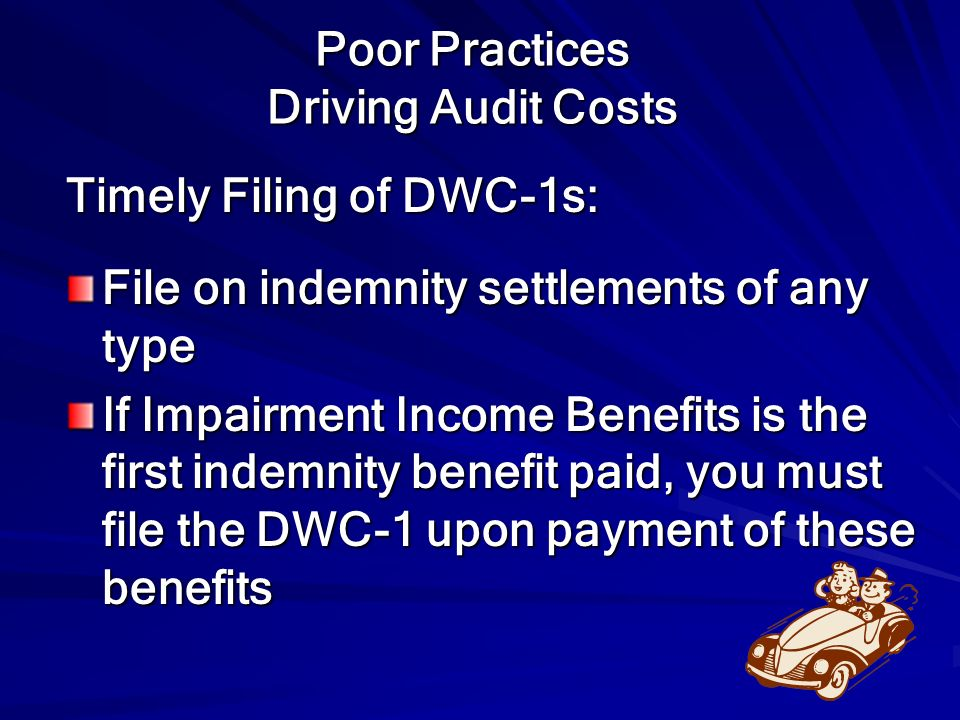 Poor Practices Driving Audit Costs