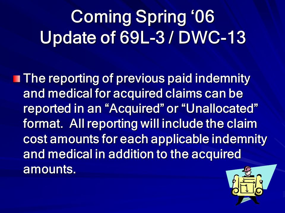 Coming Spring '06 Update of 69L-3 / DWC-13