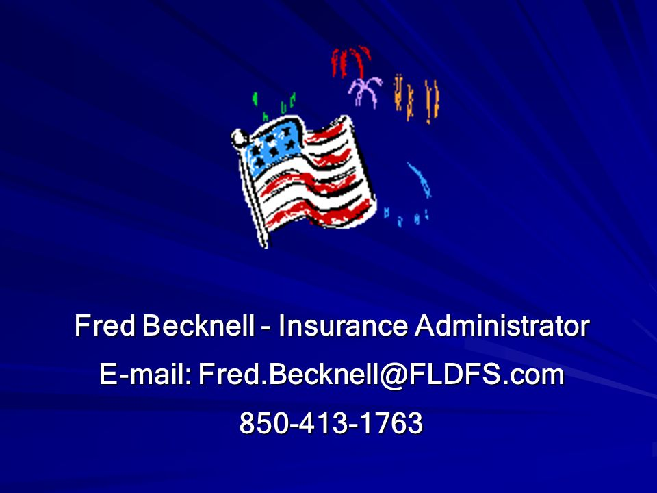 Fred Becknell - Insurance Administrator