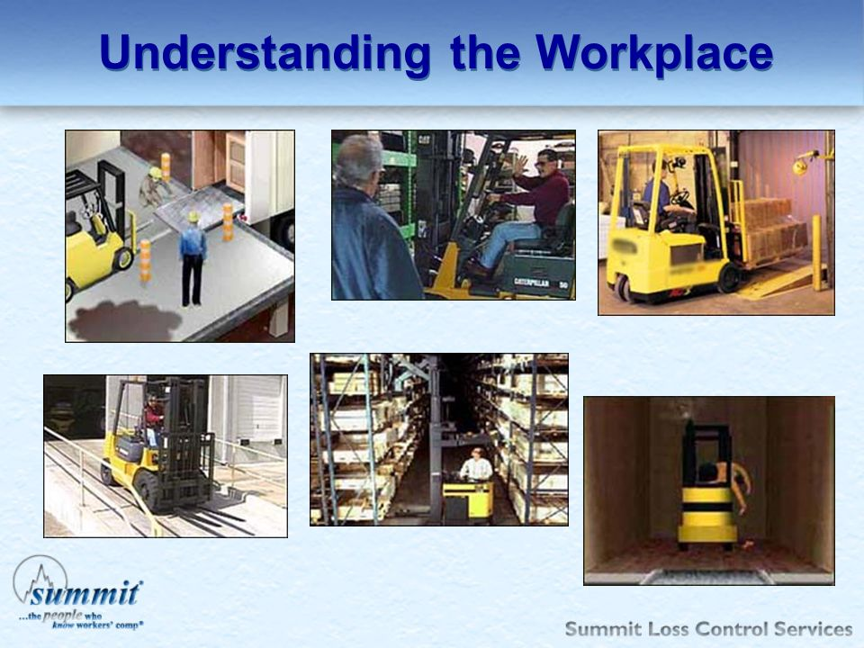 Understanding the Workplace