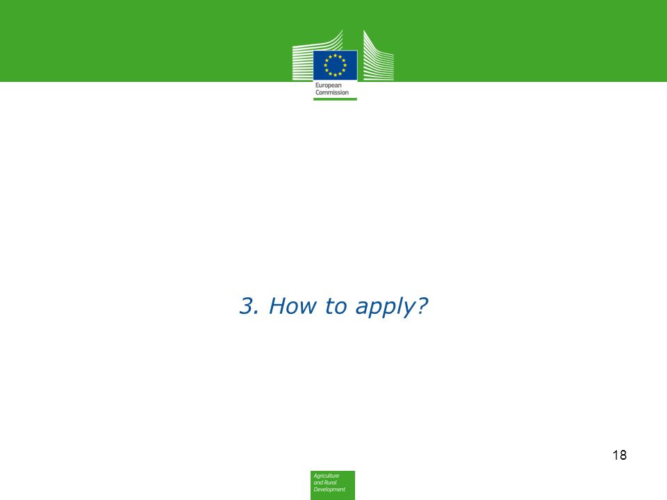 3. How to apply