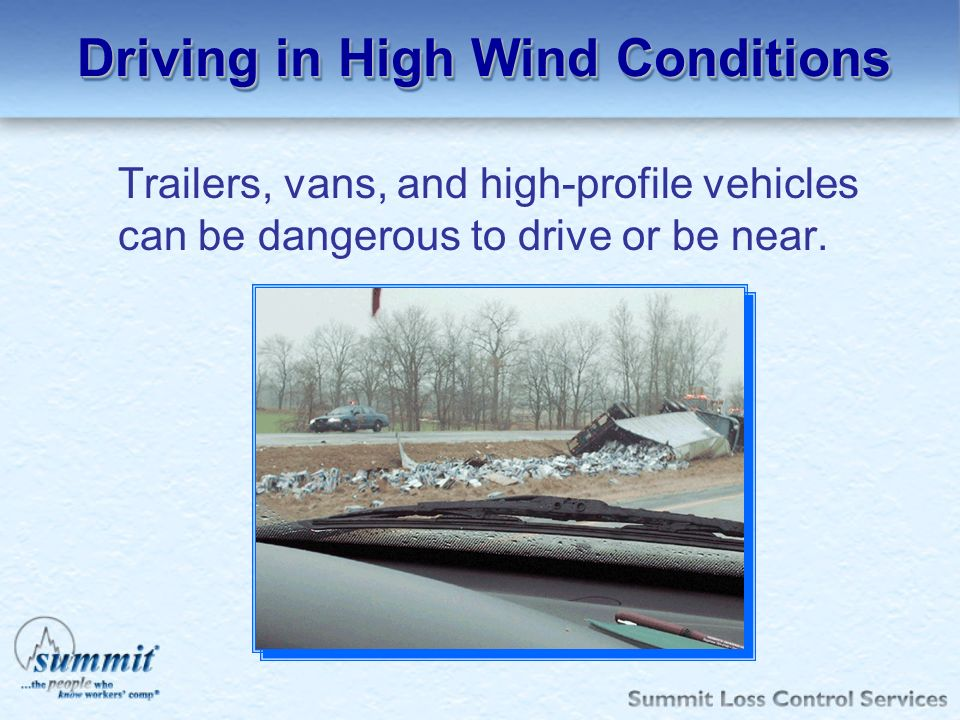 Driving in High Wind Conditions