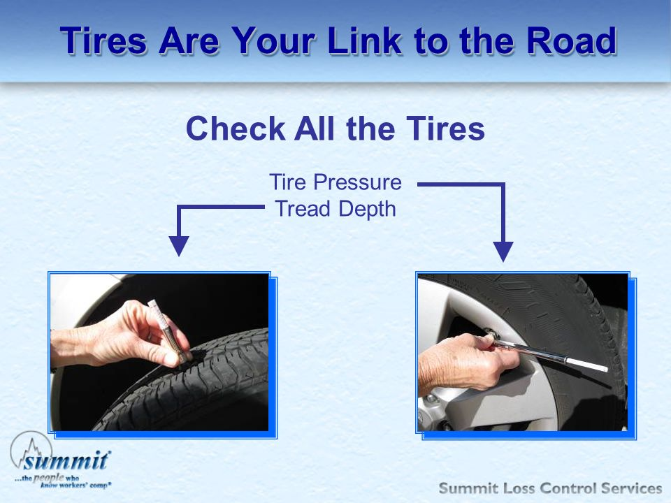 Tires Are Your Link to the Road