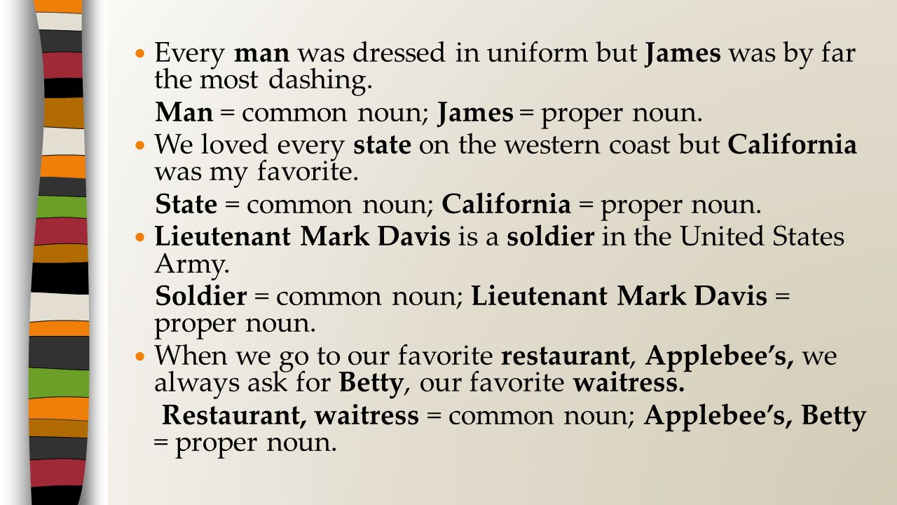 Every man was dressed in uniform but James was by far the most dashing.