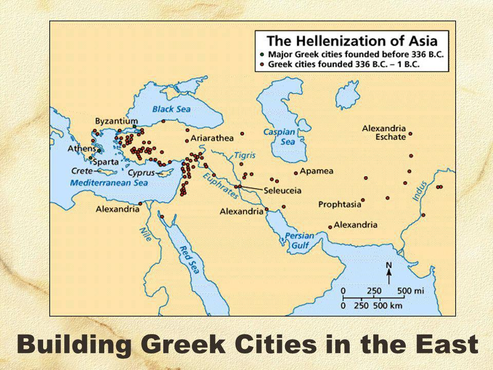 Building Greek Cities in the East