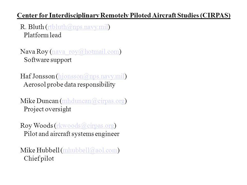 Center for Interdisciplinary Remotely Piloted Aircraft Studies (CIRPAS)