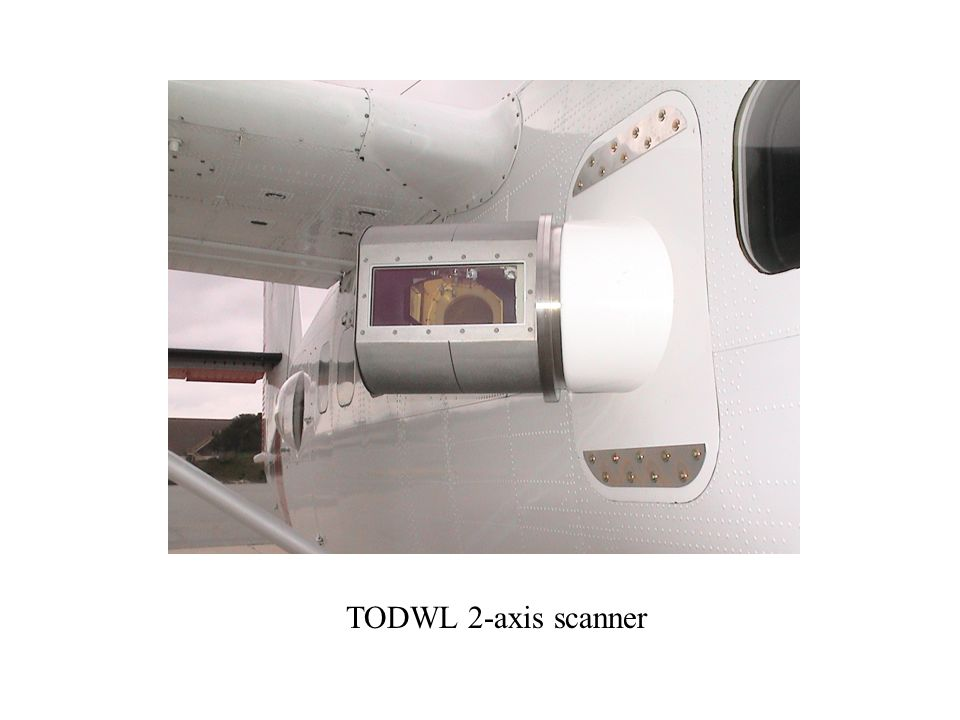 TODWL 2-axis scanner