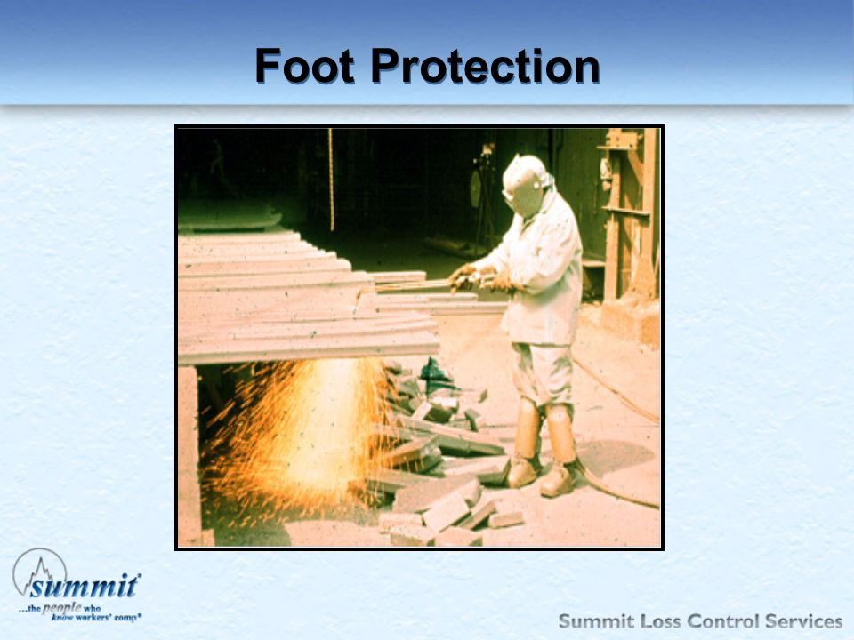 Foot Protection 1910.136.
