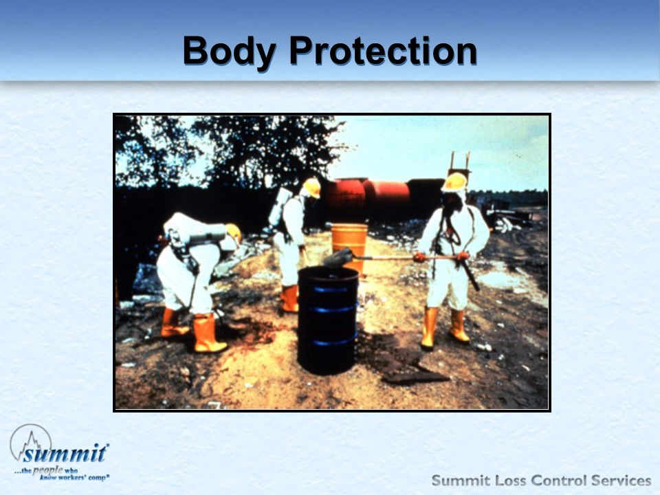 Body Protection 1910.132(a)