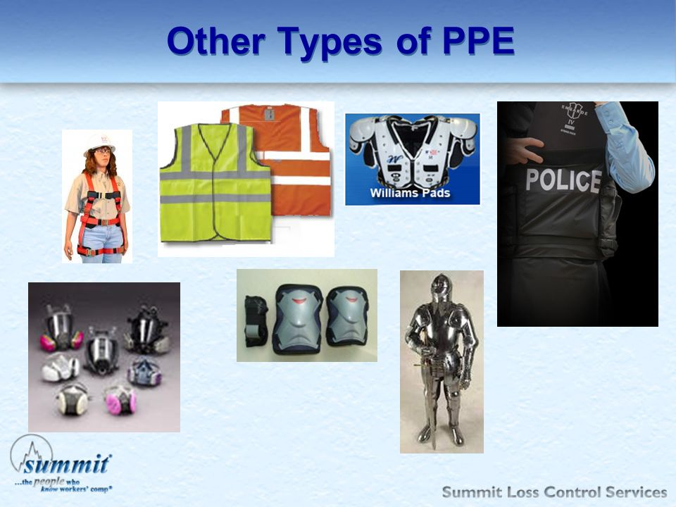 Other Types of PPE