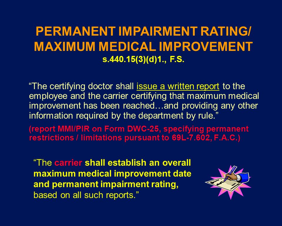 PERMANENT IMPAIRMENT RATING/