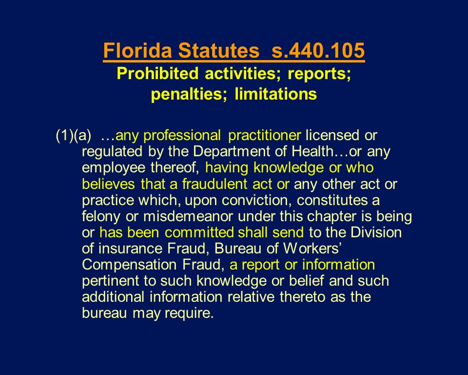 Prohibited activities; reports; penalties; limitations