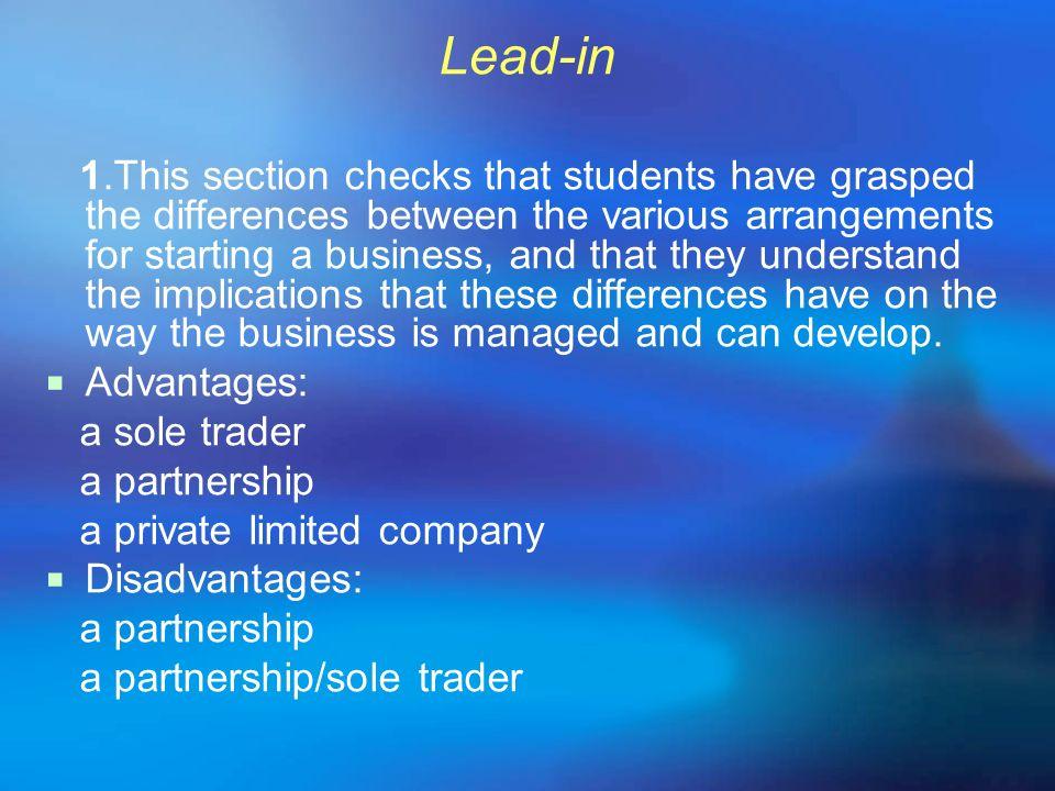 Lead-in