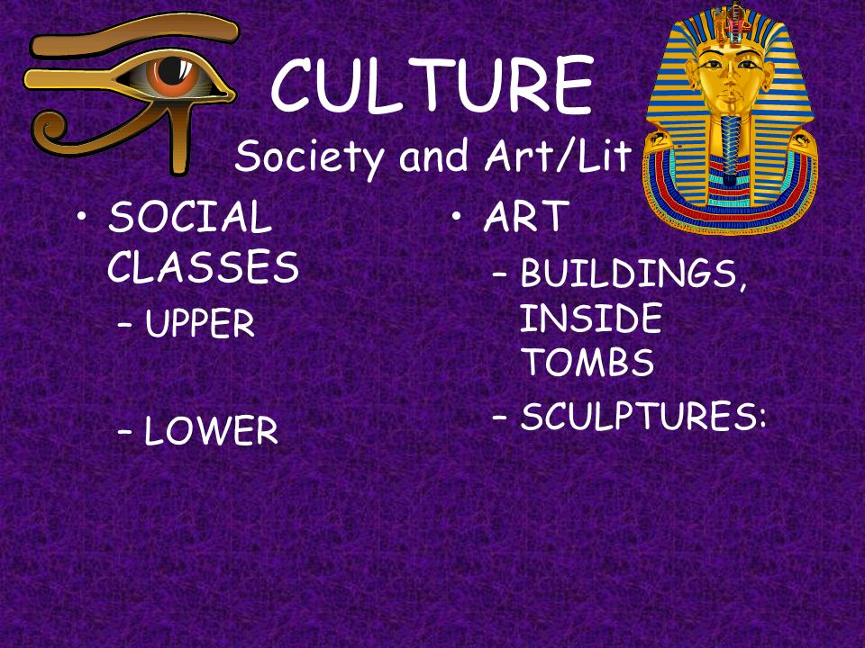 CULTURE Society and Art/Lit