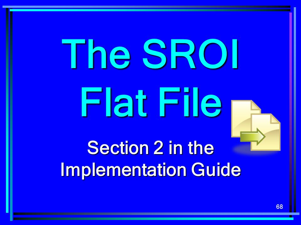 Section 2 in the Implementation Guide