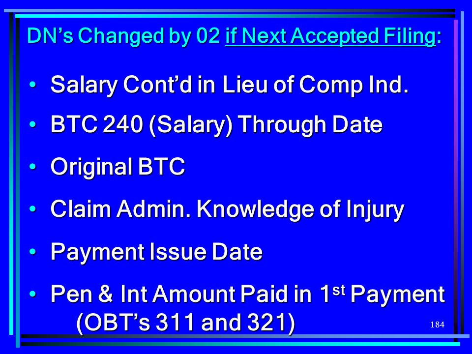 DN's Changed by 02 if Next Accepted Filing: