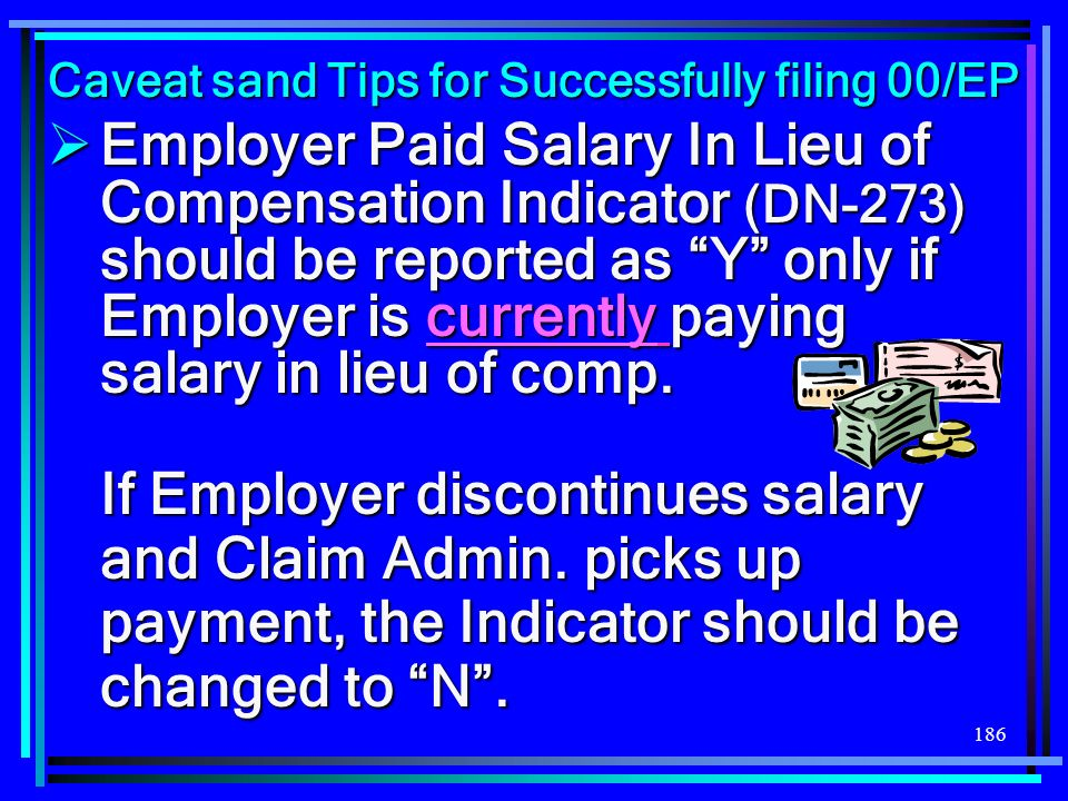 Caveat sand Tips for Successfully filing 00/EP