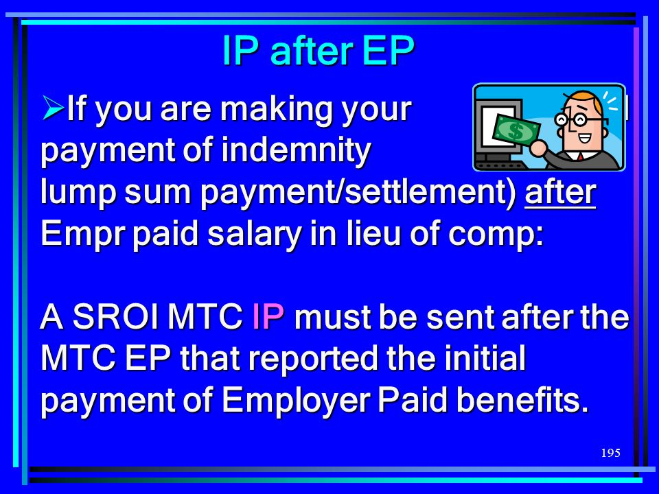 IP after EP