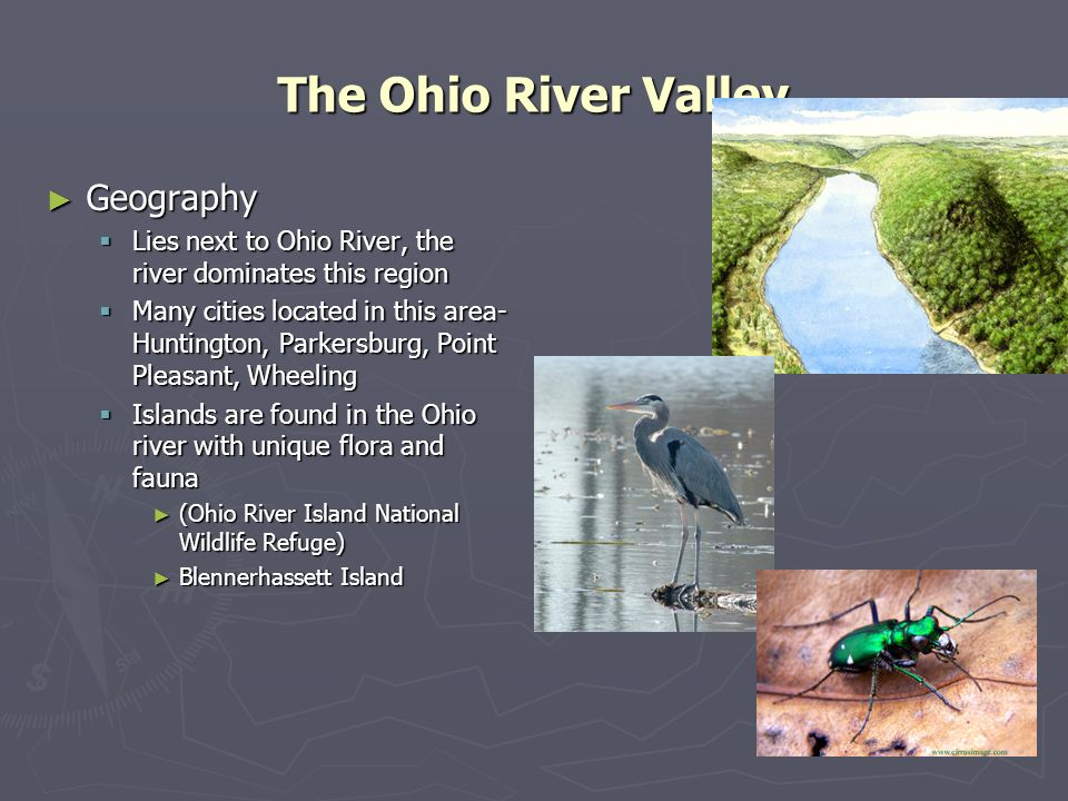 The Ohio River Valley Geography
