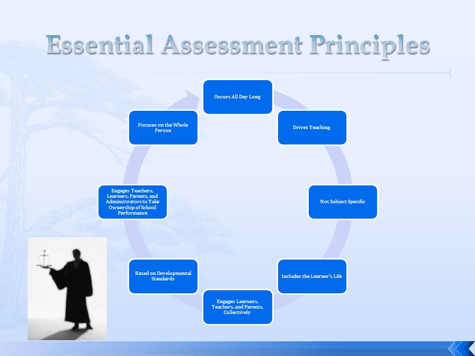 Essential Assessment Principles