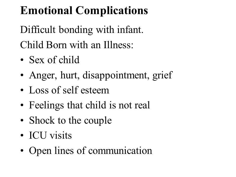 Emotional Complications